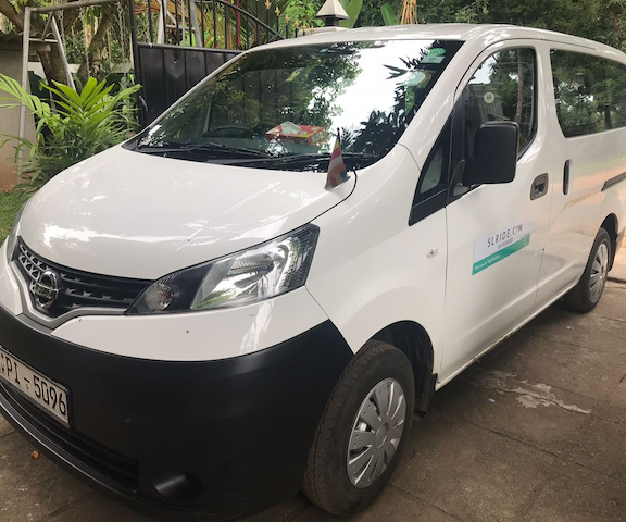 rent van with driver sri lanka - SLRIDE.COM